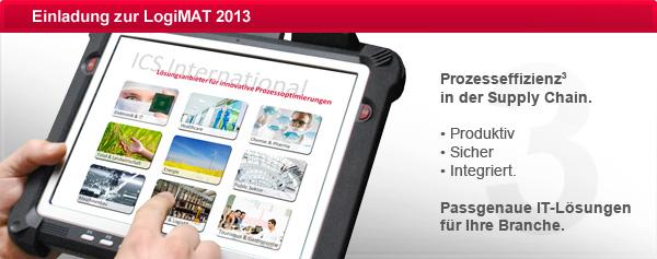 LogiMAT 2013 - Mobile IT für optimierte Wertschöpfung