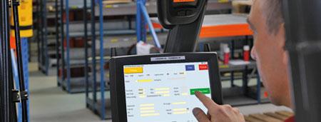 Vehicle Tracking Device >> ICS SLS für SAP - Integriertes Staplerleitsystem
