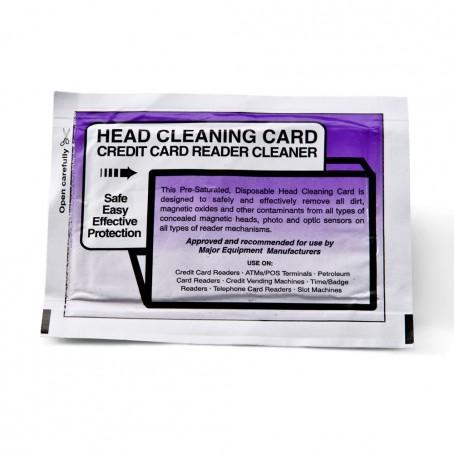 "Cleaning Card, 2"" , 25 Stück"