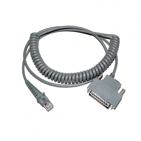 RS-232 Kabel, gedreht, 25-Pin male DTE