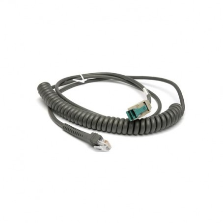 USB Kabel, Power Plus Stecker, 2,7 m, gedreht