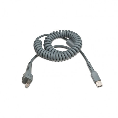 USB-Kabel 3m, Typ A, gedreht, 5V host power