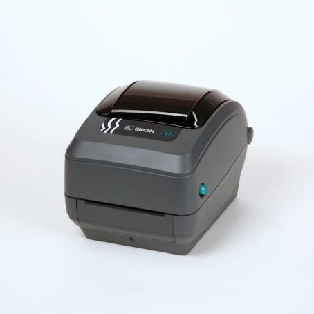 Zebra GK420t, 200 dpi, Dispenser (Peeler), interner Printserver 10/100, USB