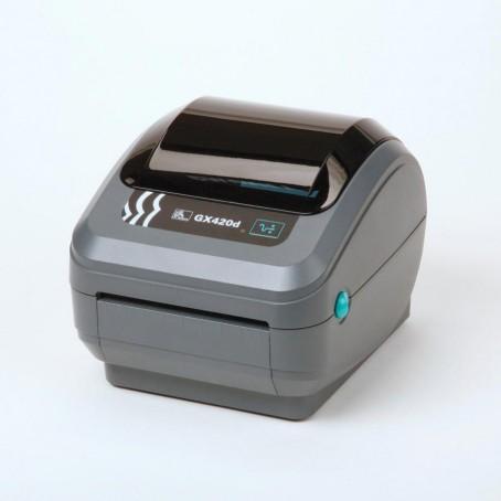 Zebra GX420d, 200 dpi, Dispenser (Peeler), ZebraNet WLAN