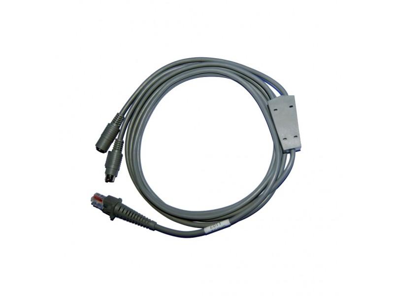 IBM PS/2 Kabel gerade, Mini DIN Connector