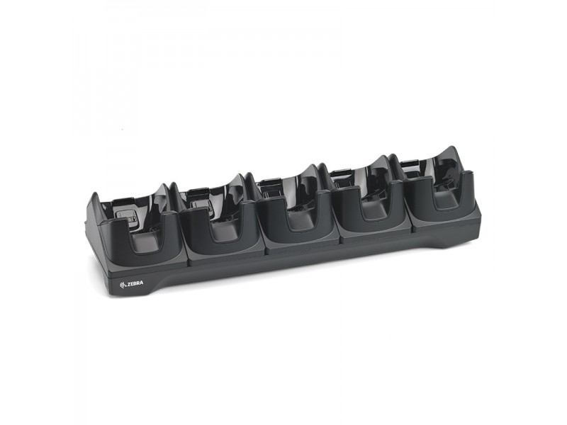 Zebra TC8000 5-Slot Charge-Ethernet Cradle