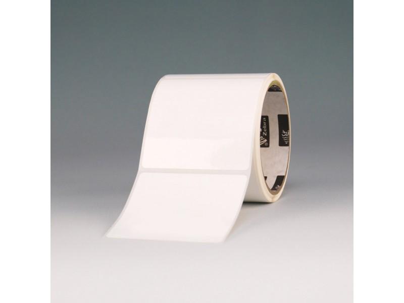 Kunststoff-Etiketten 102 x 76 mm, Zebra PolyE 3000T Gloss