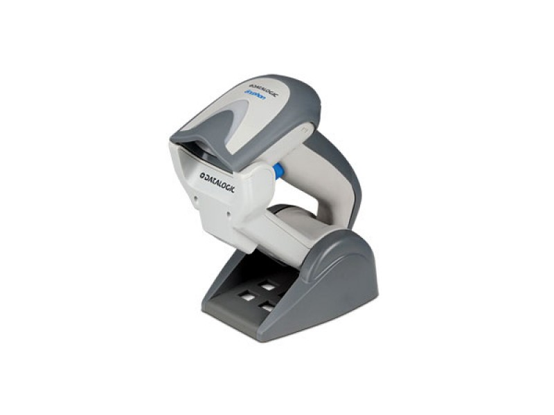 Datalogic Gryphon I GBT4100, Scanner-Kit, Charger, Bluetooth, Linear Imager, Green Spot, weiß