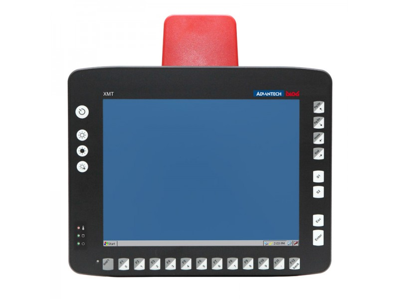 "Advantech Dlog XMT 5/10, WLAN 802.11 a/b/g, CE 6.0, 10,4"" SVGA Touchscreen"