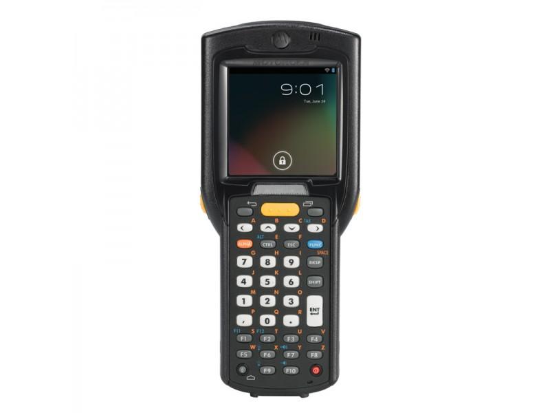 Motorola MC3200 Premium, 2D Imager, 802.11a/b/g/n WLAN, Straight Shooter, Bluetooth, 38 Tasten, High Capacity Akku, Android, 1GB RAM/4GB ROM
