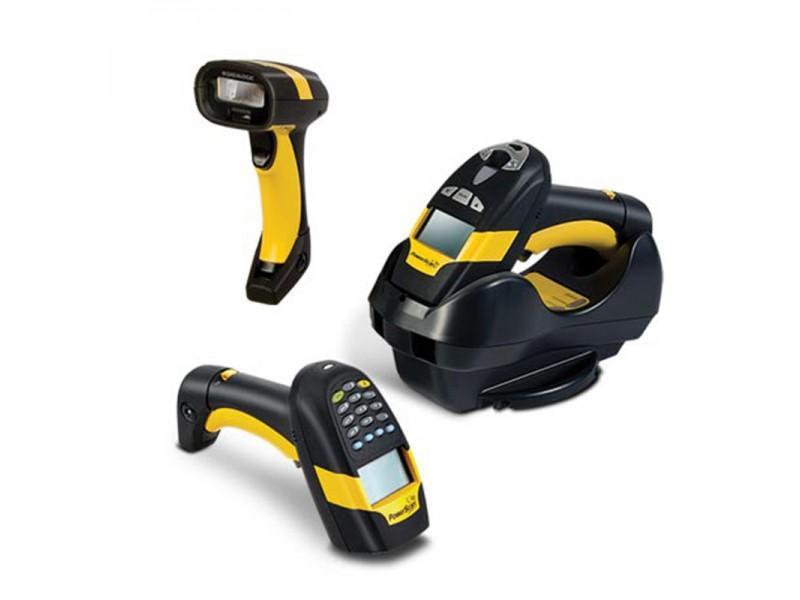 Datalogic PowerScan PBT8300, Scanner-Kit, 1D Scanner, RS232, Green Spot, gelb/schwarz