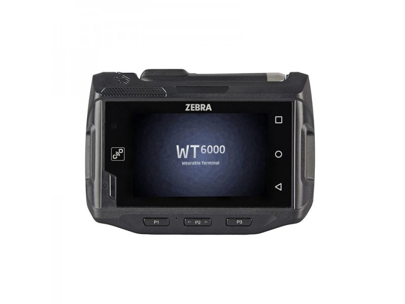 Zebra WT6000, USB, Bluetooth, WLAN 802.11ac, NFC, Touchscreen, Android 5.1, RAM: 1GB, Flash: 4GB