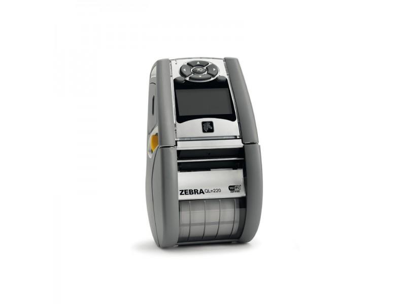 Zebra QLn220 HC, 200 dpi, WLAN a/b/g/n, Seriell, USB, Bluetooth,
