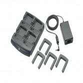 4-fach Batterie-Ladestation