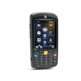 Motorola MC55N0, 1D Laser, WLAN 802.11 a/b/g, BT, Kamera, 256MB RAM/1GB Flash, NUM, WM 6.5 Classic, 3600 mAh Akku