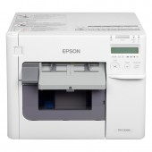 Epson ColorWorks C3500, 720 x 360 dpi, Cutter, Dispenser, USB, Ethernet, weiß