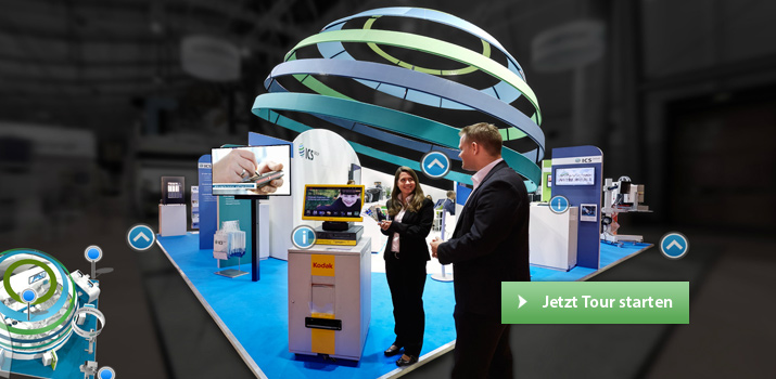 Virtueller Messestand Logimat 2015