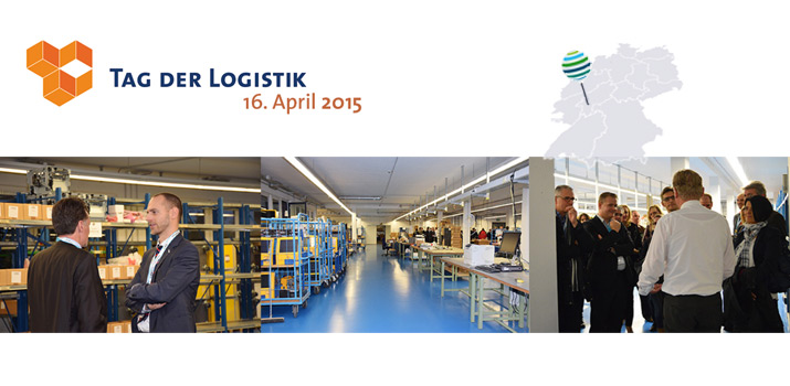 Tag der Logistik 2015: Innovative Serviceprozesse live erleben